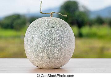 Cantaloupe melon,