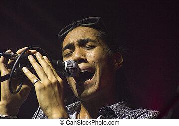 cantante, joven