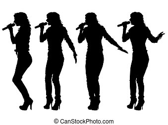 cantante, mujeres