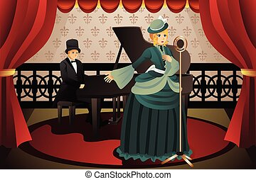 cantante, pianista