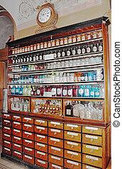 ancient drugstore in L'vov