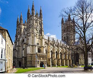 canterbury, katedra