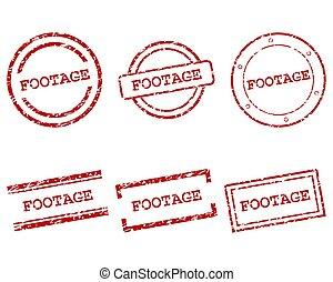 cantidad, sellos