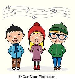 canto, bambini