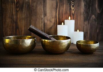 canto, ciotole, handcrafted, tibetano