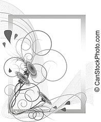 canto, decoração, dandelions
