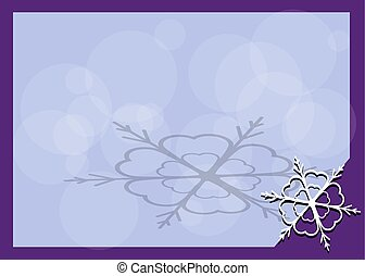 canto, quadro, snowflake