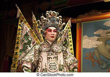 Cantonese opera dummy - Cantonese opera male costume dummy