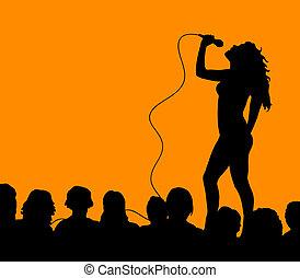 cantor, femininas