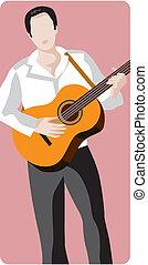 cantores, músicos