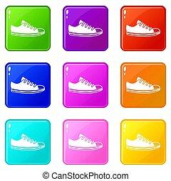 Canvas sneaker set 9