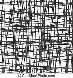 Canvas texture, vector illustration