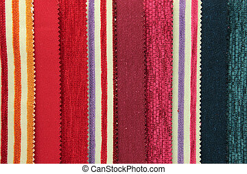 Canvas upholstery samples