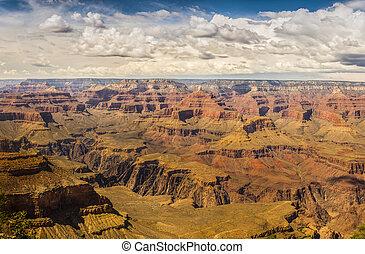 canyon, arizona, -, grande