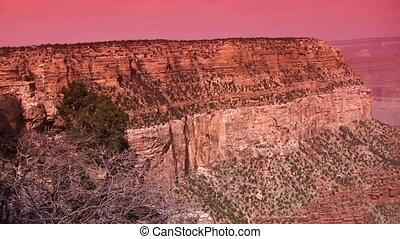 canyon, aube, grandiose