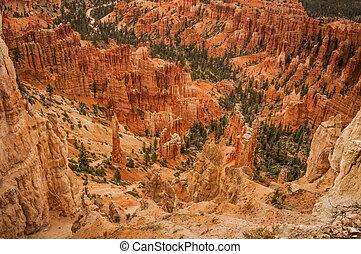 Canyon Bryce great rocks