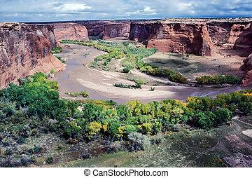 Canyon de Chelly in Arizona