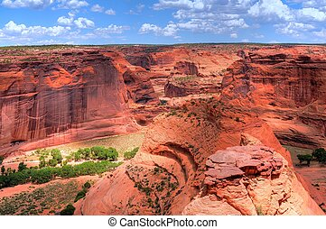 Canyon de Chelly Navajo indian reservation northern Arizona