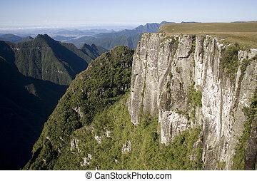 Canyon in Brazil - The Montenegro Canyon in Rio Grande do...