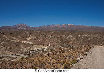 canyon, in, il, altiplano