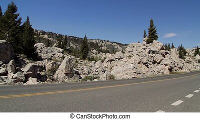 Canyon Junction, Yellowstone National Park, United States