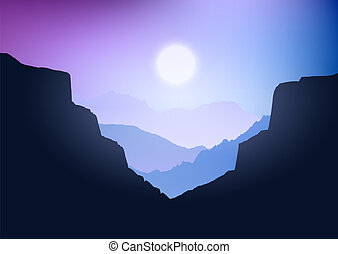 canyon landscape 3107