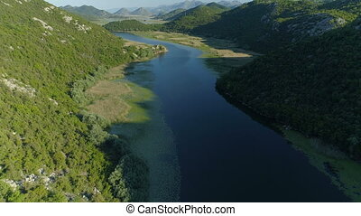 Canyon of river Crnojevica, Montenegro. - Canyon of river ...