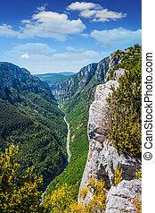 Canyon of Verdon, Provence