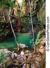 Canyon pool Isalo