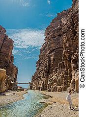 canyon wadi mujib jordan - canyon wadi mujib in jordan...