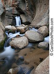 canyon waterfall