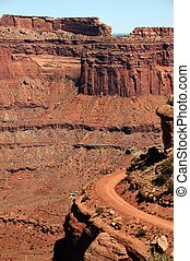 Canyonland State Park near Moab, Utah. The Power of Nature. ...