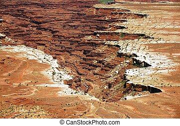 Canyonland Utah Landscape.