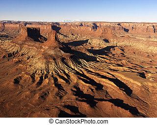 canyonlands の 国立公園, moab, utah.