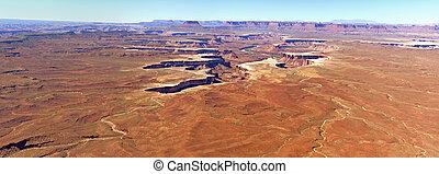 canyonlands, nacional, paisagem, parque
