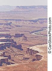 canyonlands, terreno