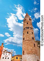 caorle, -, italia, catedral, venezia