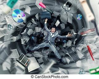 caos, ufficio