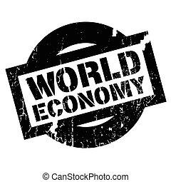 caoutchouc, économie mondiale, timbre