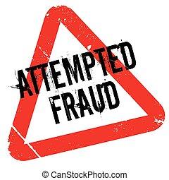 caoutchouc, attempted, fraude, timbre