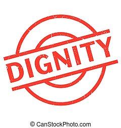 caoutchouc, dignité, timbre