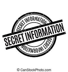 caoutchouc, information, top secret, timbre