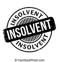 caoutchouc, insolvable, timbre