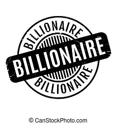 caoutchouc, milliardaire, timbre