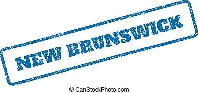 caoutchouc, nouveau brunswick, timbre