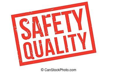 caoutchouc, sécurité, qualité, timbre