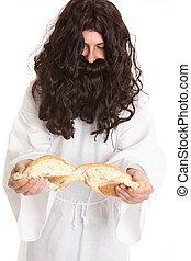 capítulo, john, pão, 6, life.-