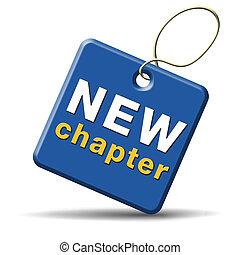 capítulo, novo