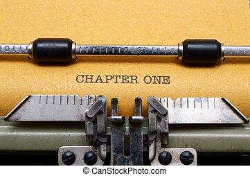 capítulo, uno
