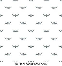 Cap beer pattern seamless